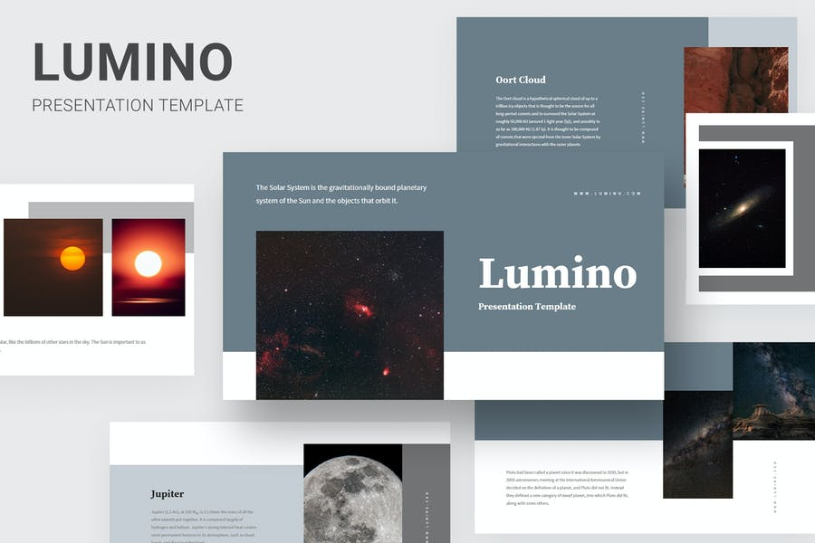 Lumino - Sistema Solar Educación Powerpoint