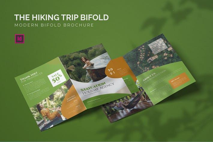 Thumbnail for Hiking Trip - Bifold Brochure