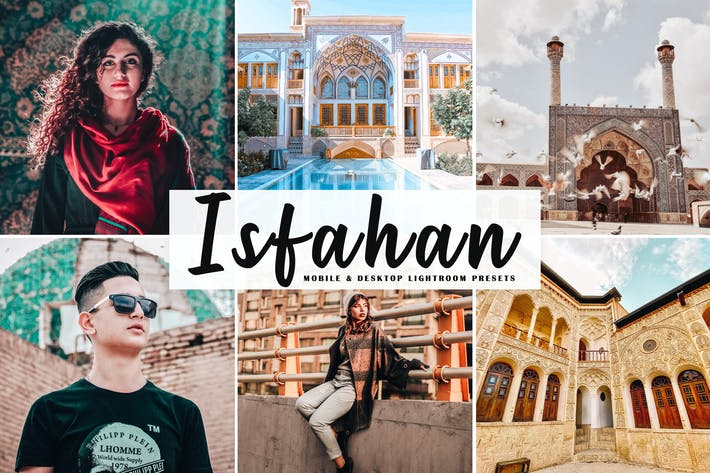 Thumbnail for Isfahan Mobile & Desktop Ajustes preestablecidos de Lightroom