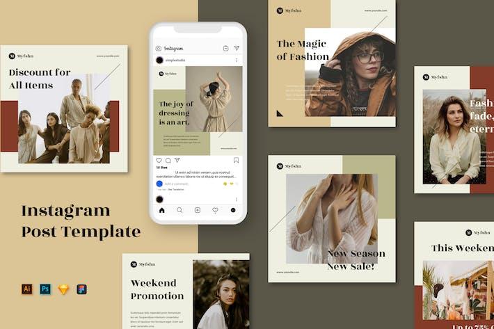 Thumbnail for Modèles Instagram