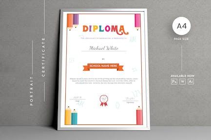 Education Certificates Template