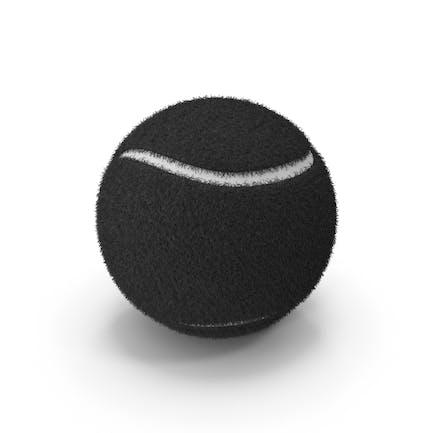 Black Tennis Ball