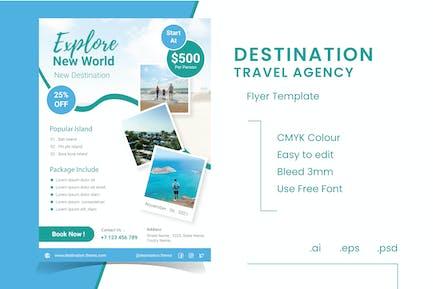 Destination Travel Agency Flyer