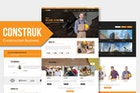 Construk - Construction Business Muse Template YR