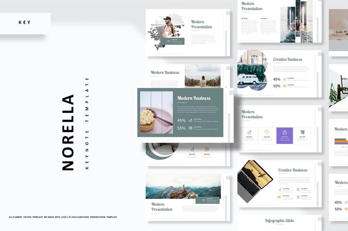 Thumbnail for Norella - Keynote Template