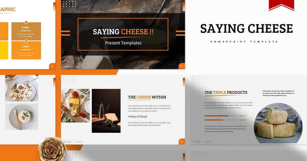 Download Saying Cheese   Powerpoint Template by Vunira