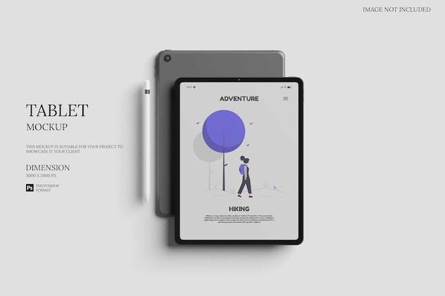 Elegant iPad / Tablet - Mockup