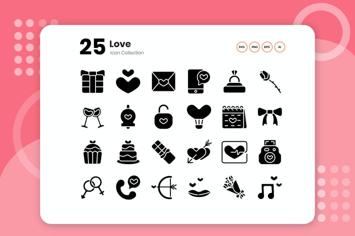 Thumbnail for 25 Relationship & Love Outline Icon