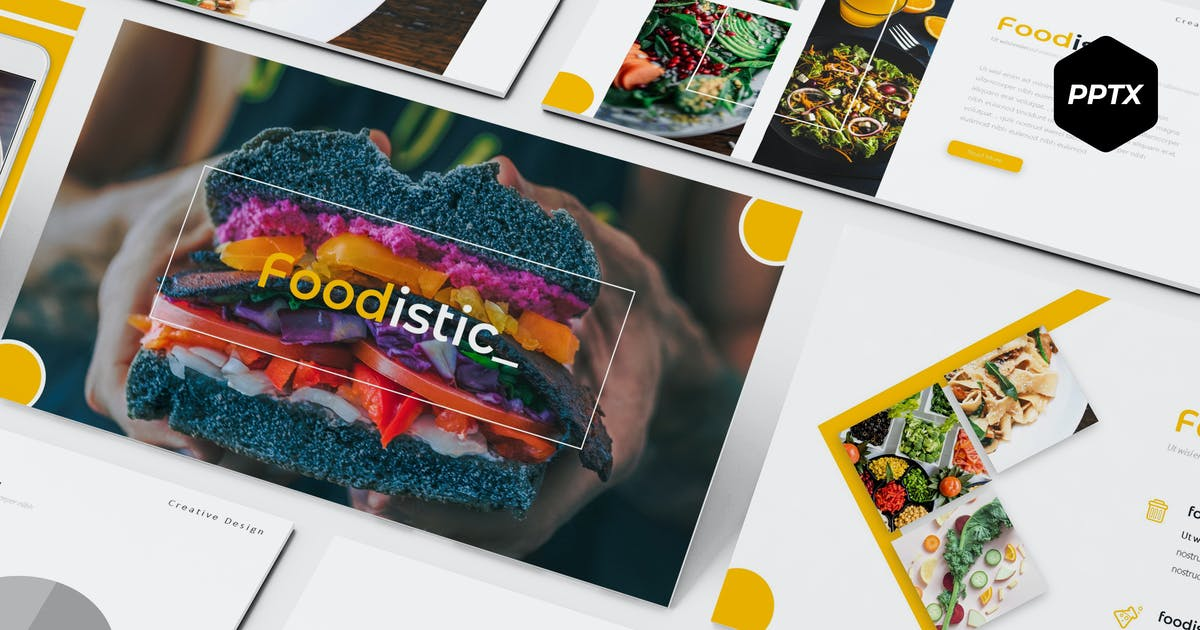 Download Foodistic - Powerpoint Template by aqrstudio