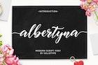 Albertyna Script