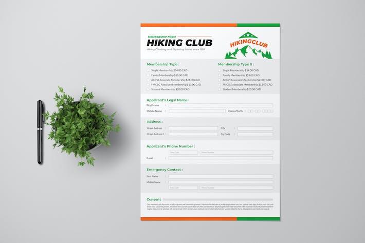 Thumbnail for Hiking Club Form