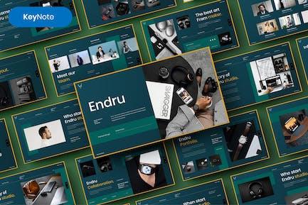 Endru – Business Keynote Template