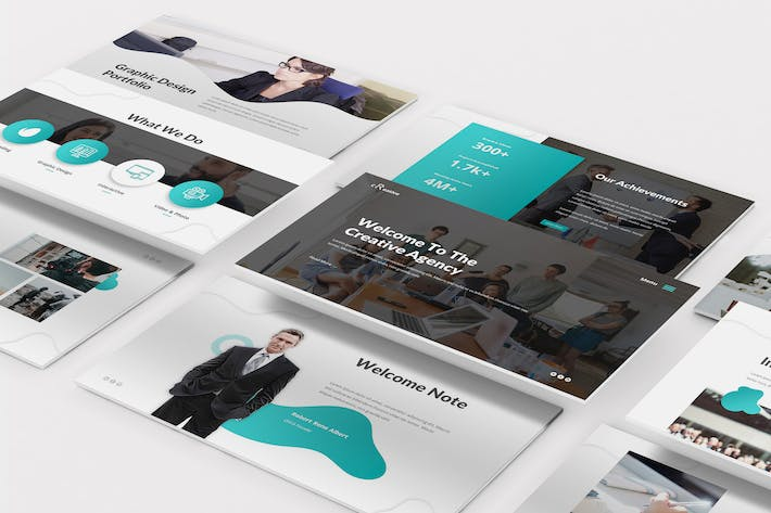 Thumbnail for Creative Agency Powerpoint Template