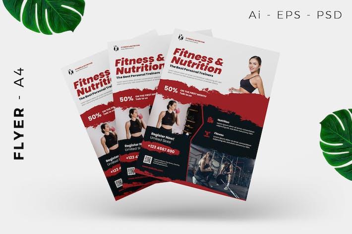 Thumbnail for Fitness Gym Flyer Design