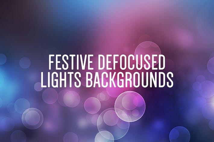 Thumbnail for Festive Defocused Lights Backgrounds