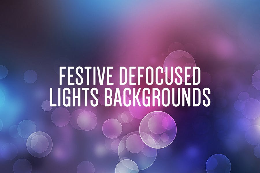 Abstract Light Bokeh Backgrounds