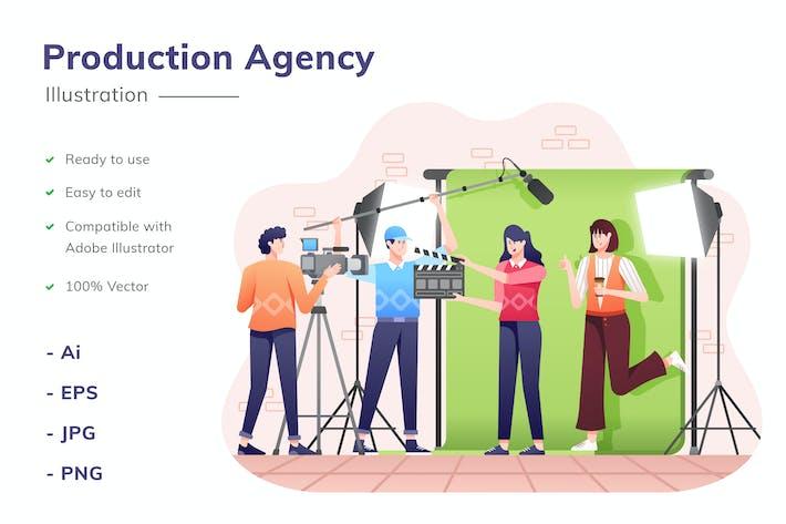 Production Agency Illustration
