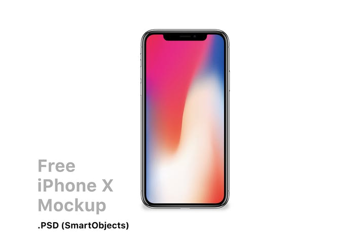 Cover Image For Мокап iPhone X