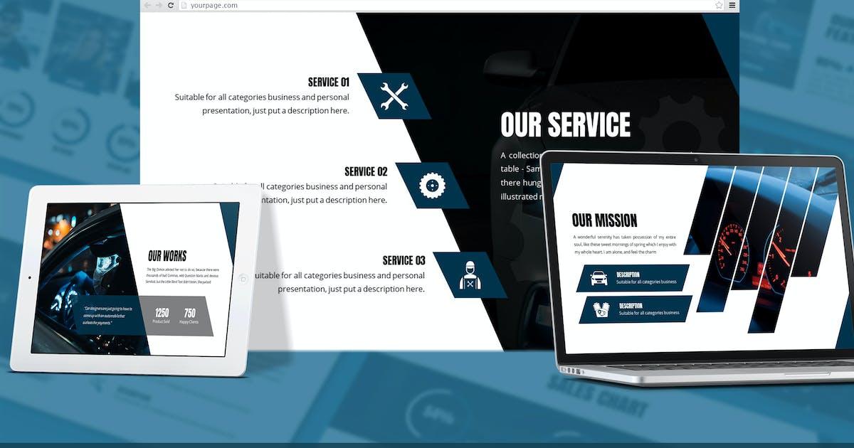 Download Fortuna - Automotive Google Slides Template by SlideFactory