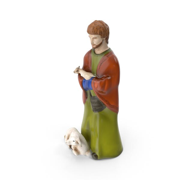 Thumbnail for Shepherd Figurine