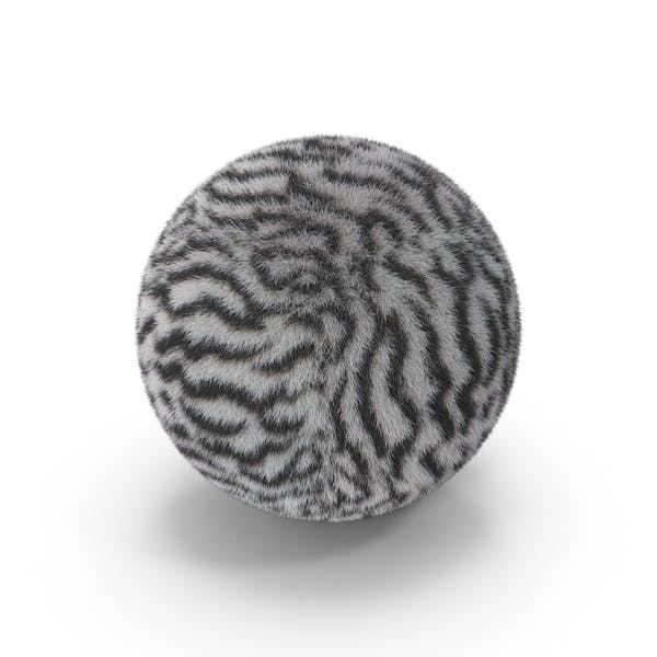 White Tiger Fur Ball