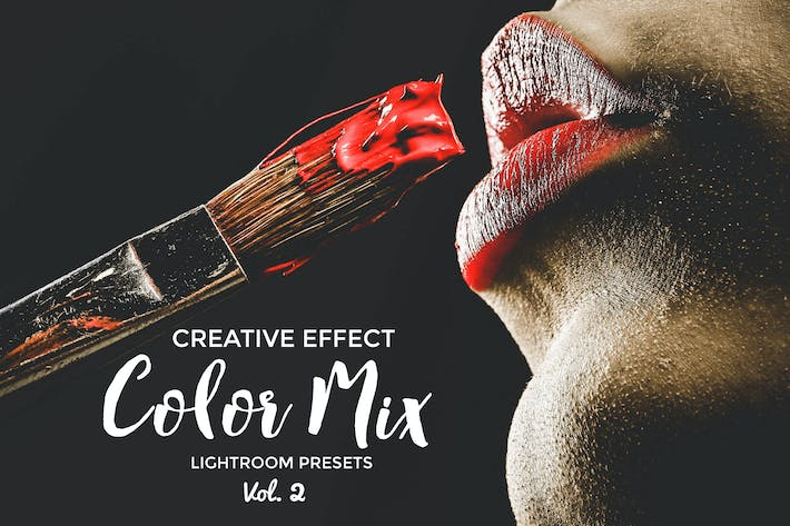 Cover Image For Color Mix Lightroom Presets Vol. 2