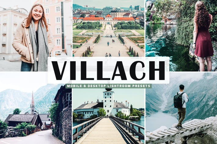 Thumbnail for Villach Mobile & Desktop Lightroom Presets