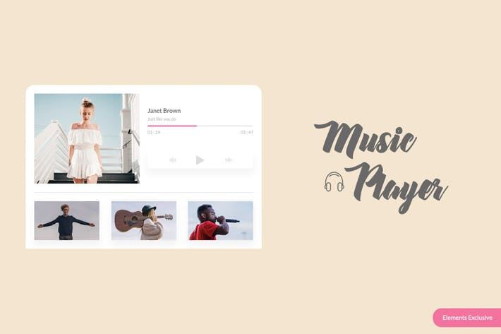 Thumbnail for Music Player Widget
