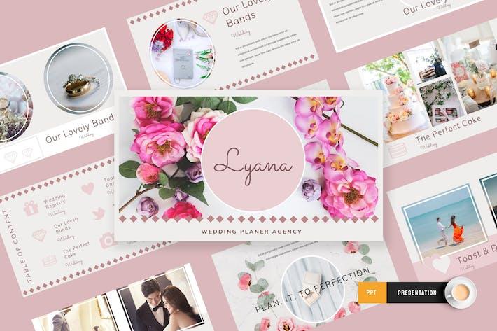 Thumbnail for Lyana - Wedding Planner Powerpoint