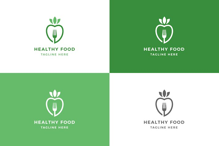Thumbnail for Healthy Food - Logo Template