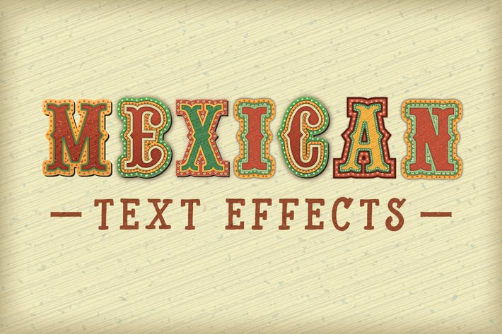 Thumbnail for Mexican Text Effects