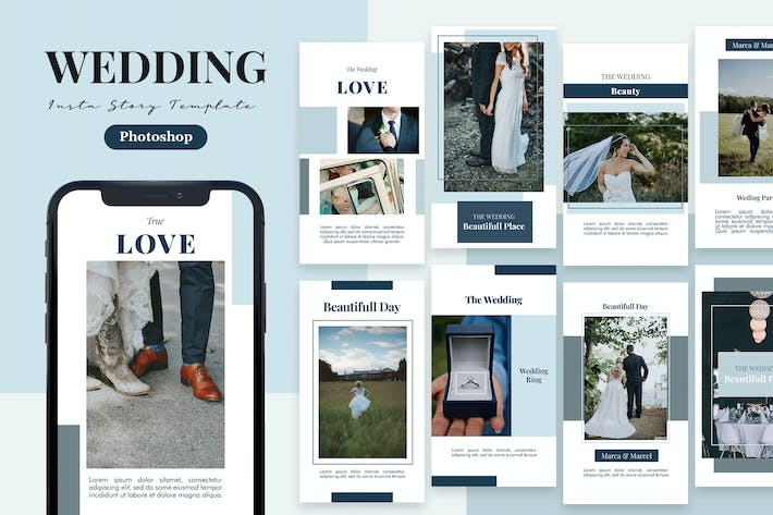 Thumbnail for Bride - Wedding Instagram Story Template