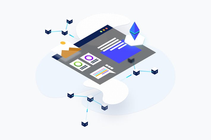 Thumbnail for Blockchain Platform KYC Isometric