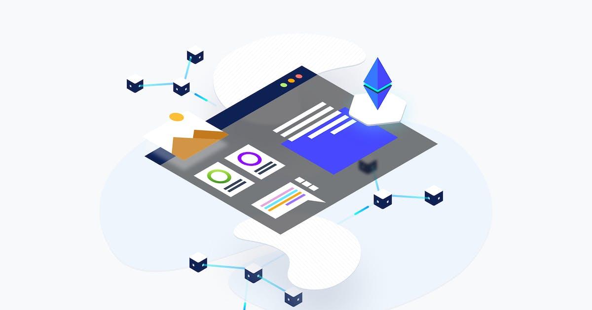 Download Blockchain Platform KYC Isometric by angelbi88