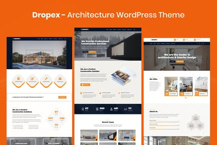 Dropex - Architecture WordPress Theme