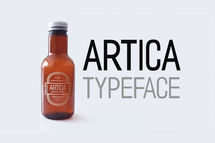 Thumbnail for ARTICA - Display / Sans-Serif Typeface + Web Font