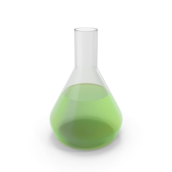 Алхимическая колба средний зеленый