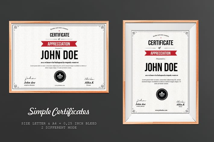 Thumbnail for Simple Certificate