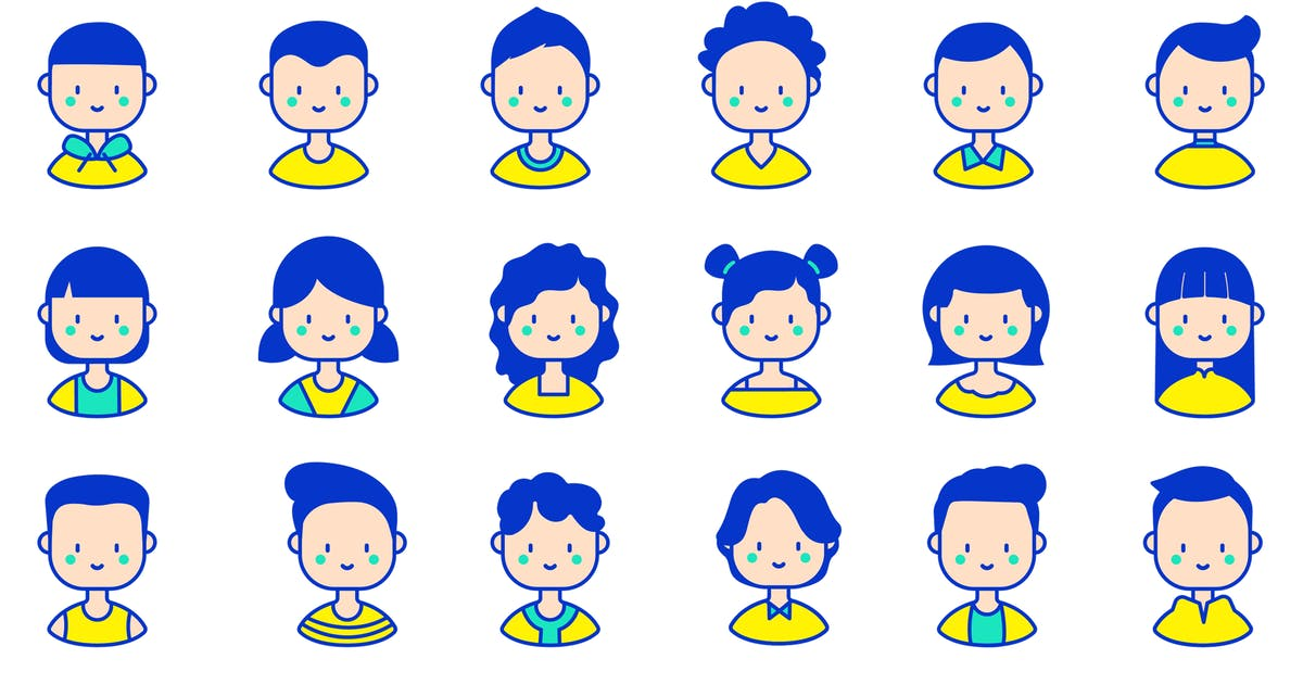 Download Baby Avatar Icon Packs by NinjaTeam