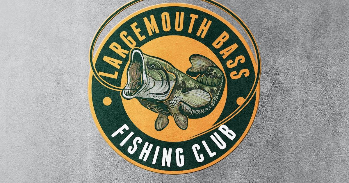 Download Largemouth Bass Fishing Logo by Suhandi