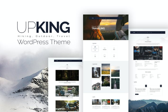 Thumbnail for Upking - Hiking Club WordPress Theme