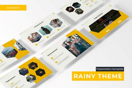 Rainy Thema - Keynote Vorlage