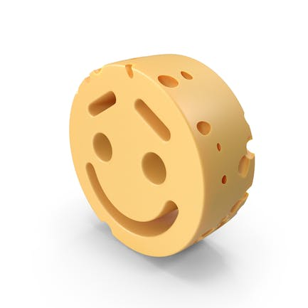 Smiley Face Lifted Brow cheese