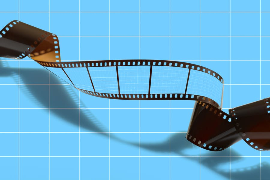 Film Strip Mockup