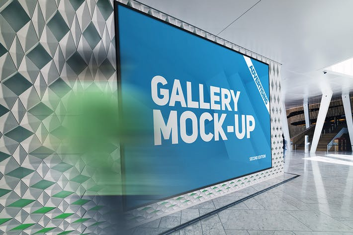 Thumbnail for Gallery Poster Mockup v.3