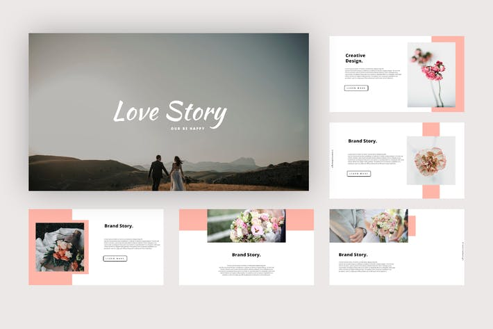 Love Story - Wedding Keynote Template