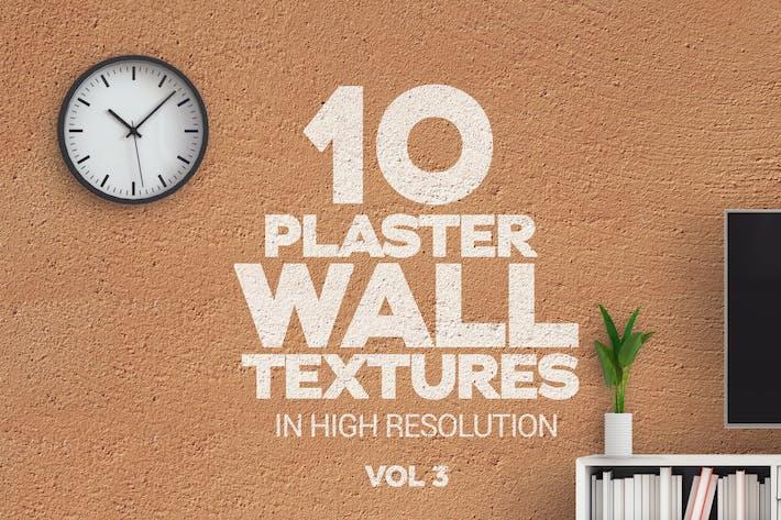 Thumbnail for Gipswand Texturen Vol 3 x10
