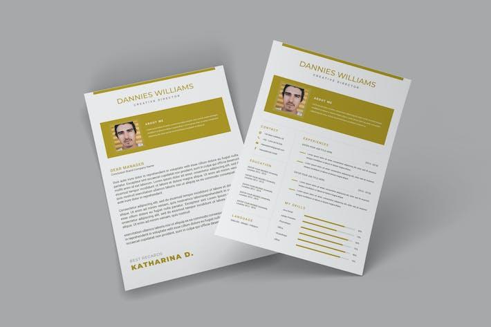 Thumbnail for Goldy CV Resume