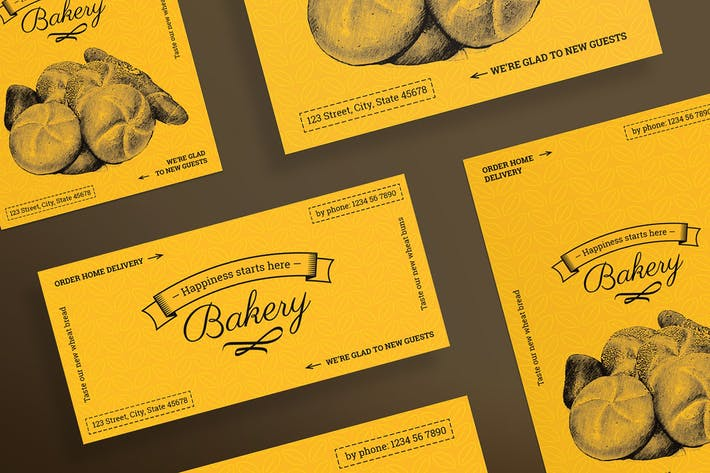 Thumbnail for Bakery Food Flyer and Poster Template