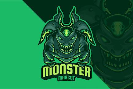 Monster Mascot Logo